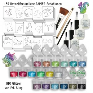 BIO Glitzertattoo Set XL