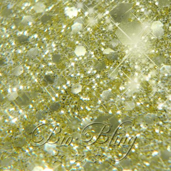 Bio Glitzer chunky gold