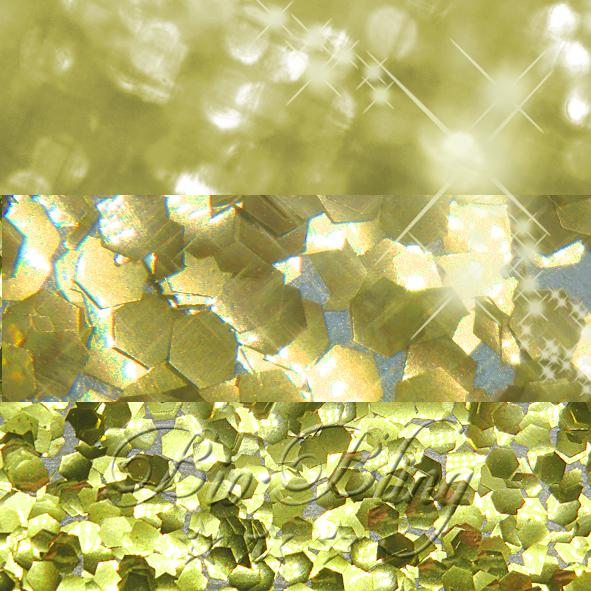 Bio Glitzer gold grob 2,4 mm