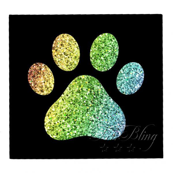 Schablonen TATZE / PFOTE, Wolf, Hund, wild, Löwe, Tiger