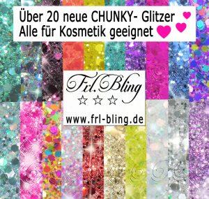 Chunky Glitzer glitter