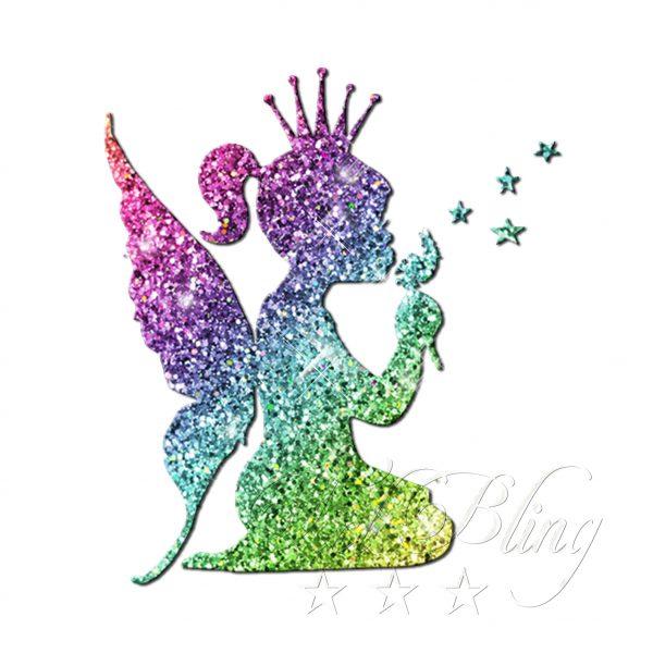 Glitzertattooschablone Elfenkind, EWlfe, Engel, feenkind, schablone Elfe, Flügel tattoos, glitzer, glitter bio,