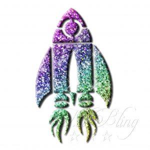 Glitzer Tattoo Schablonen RAKETE, Schablone Glitzertattoos, glittet tattoo, weltraum. spaceshuttle, Astronaut Schablone, stencil Rakete,