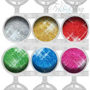Glitter, Kinderschminken, fräulein bling, froilein bling, glitzertatoo. glitter. tattoos. Glitzerset. günstig, sparen, Angebot , GLITZER Set BASIC 1