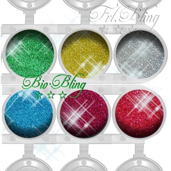 Bio Glitzer Bio Bling, Bio Glitzer / Bio Bling,Sparprei, Glitzer set, biologisch, vegan, kompostierbar, ökologisch,umweltfreundlich, fräulein bling, frolein bling