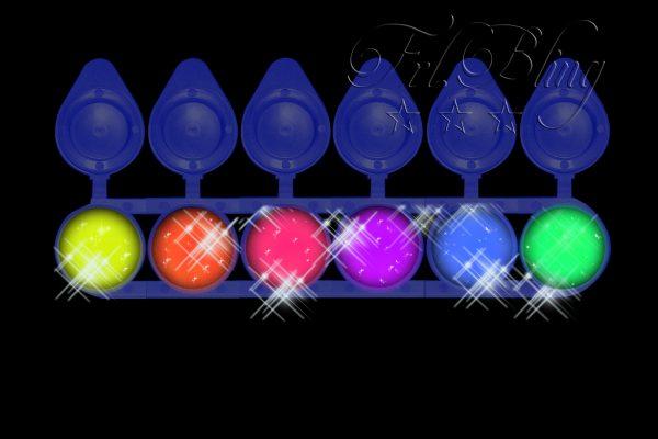 Glitzer Set NEON UV, UV Party, Blacklight. neonlicht, Neon, frl. Bling, fräulein bling, sparset, sparpreis