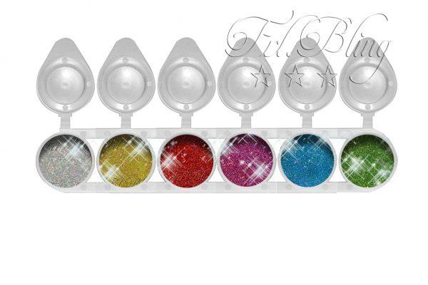 Hochwertiges Glitzer Set - Sparpreis - riesen Auswahl - kosmetisch- BIO - Kinderschminken- Bodypainting - Festival - glitter- CHUNKY - Glitzer Set SHINY
