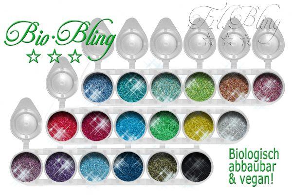 Bio Glitzer SET XXL, Sparpreis Bio Glitzer Bio Bling, Sparprei, Glitzer set, biologisch, vegan, kompostierbar, ökologisch,umweltfreundlich, fräulein bling, frolein bling, bio, vegan,
