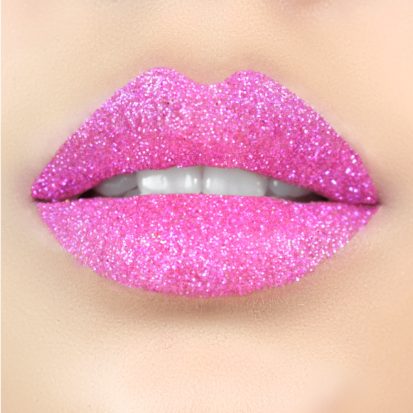 molly dolly, Glitter Lips Glitzerlippen wasserfest PINK Co. - küssen, feiern, trinken, essen - Glitzer bleibt!, .make up, make up silvester, make up festival, make up, candy, sweet, princess lips, extreme, lippen party, fräulein bling,