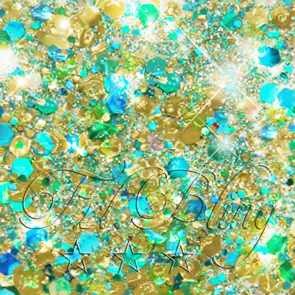 CHUNKY Glitter GOLDEN MERMAID