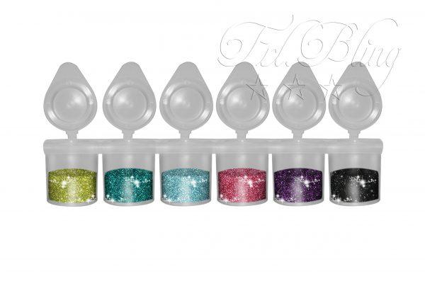 GLITZER Set BASIC 2, glitzertattoos, Glitzer Tattoos, Kinderschminken, Glitter, Glitzer günstig kaufen, kosmetisch