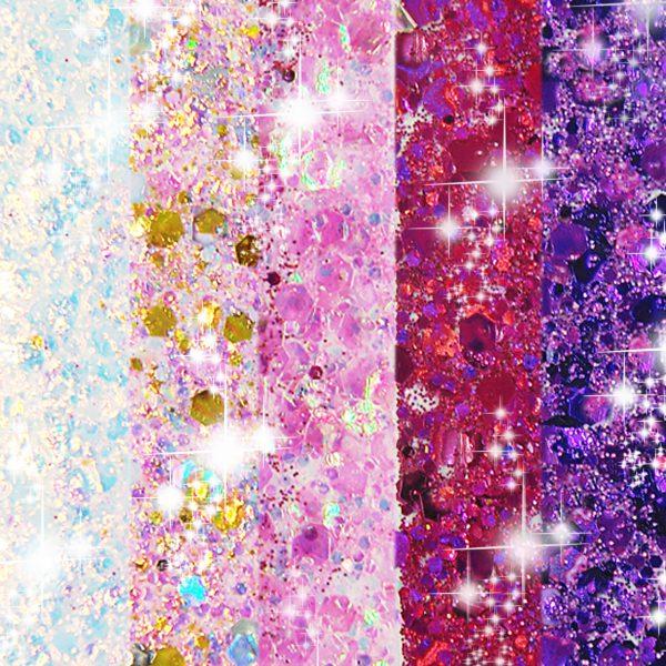 chunky set unicorn, festival glitzer, party glitzer, Glitzer günstig, glitzer kosmetisch, pink, rosa, Glitzer, glitter, einhorn