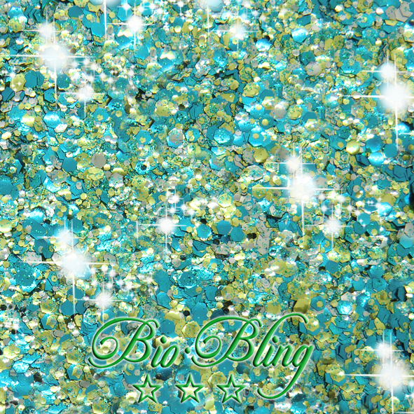 bio glitzer save the ocean, bio glitter, blue, bio chunky, frl. Bling, fräulein Bling, chunky bioglitter, kosmetischer glitzer bio, glitzer vegan,