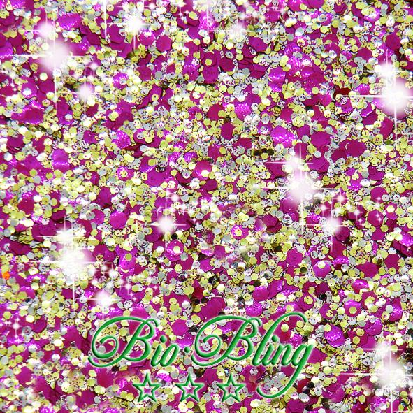 bio glitzer flamingo, bio glitter, blue, bio chunky, frl. Bling, fräulein Bling, chunky bioglitter, kosmetischer glitzer bio, glitzer vegan,