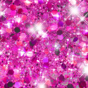 Glitzer CHUNKY PINK holografisch