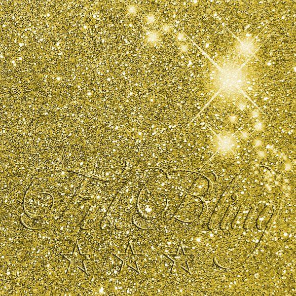 Glitzer gold metallic 167K