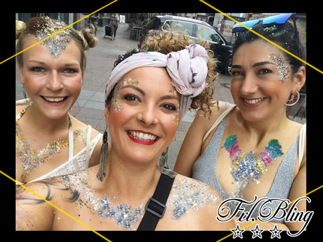 Glittergirls, CHUNKY Festivalglitzer