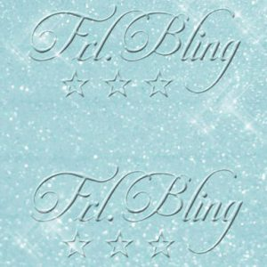 Glitzer BABY BLUE