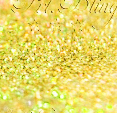 Glitzer GOLD 1 mm