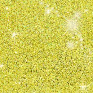 Glitzer CITRUS Gold