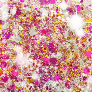 Glitzer CHUNKY PINK Party