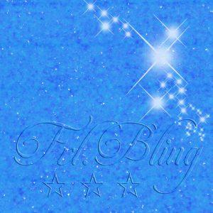 Glitzer NEON Blau UV