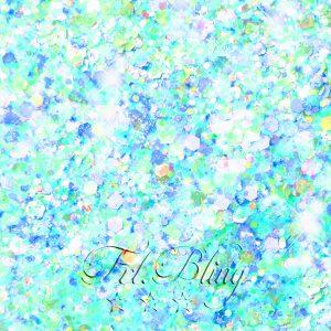 Glitzer CHUNKY CANDY Blau