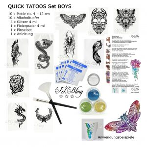 Quick Tattoo SET BOYS