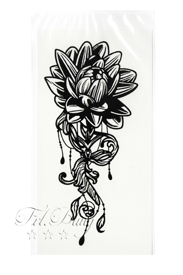 Quick Tattoo FLORAL