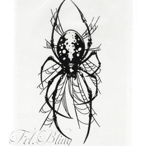 Quick Tattoo SPINNE