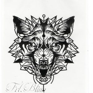 Quick Tattoo WOLF Tattoo
