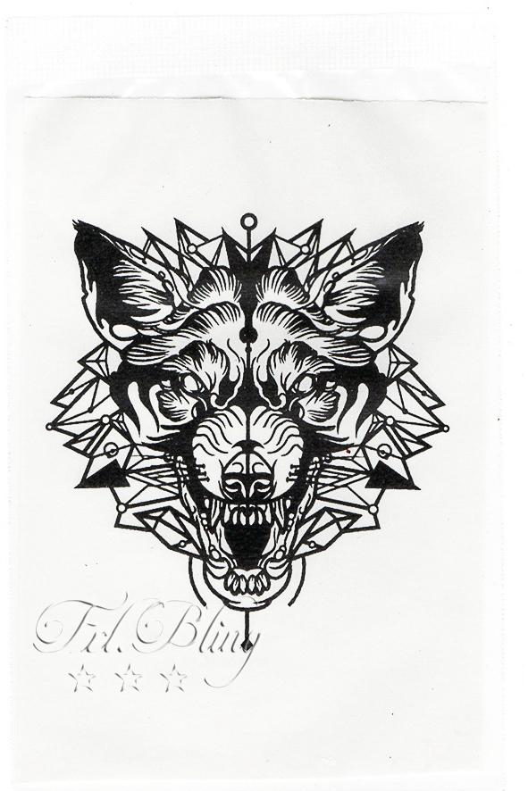Quick Tattoo WOLF Tattoo