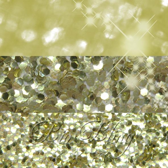 BIO Glitzer 1 mm GOLD