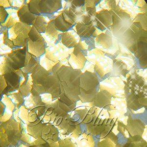 BIO Glitzer 2,4 mm GOLD