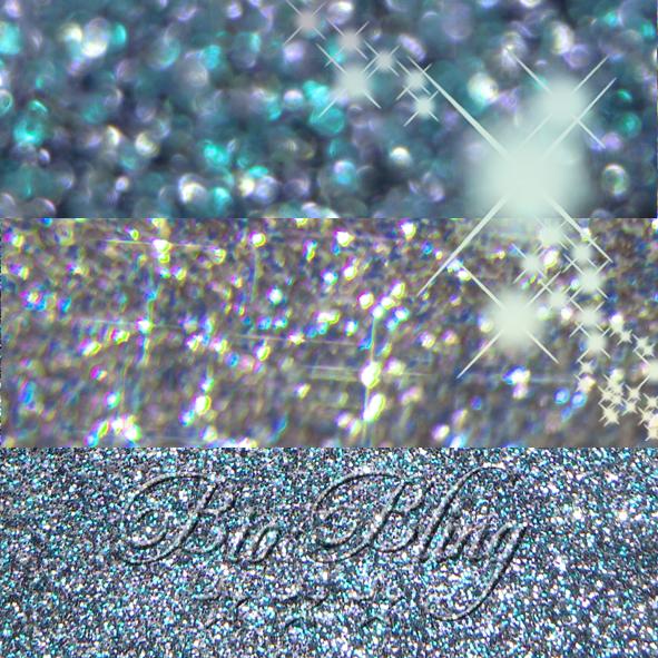 BIO Glitzer NIGHTSKY Blau