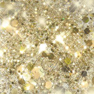 Glitzer CHUNKY GOLD metallic
