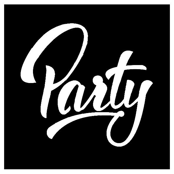 Glitzertattoos Schablonen PARTY