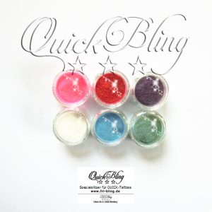 Quick Bling Glitzer SET S CANDY