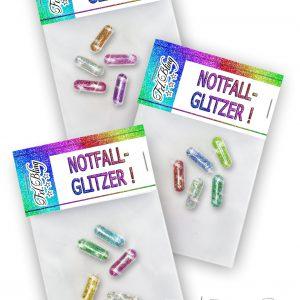 Glitzerpillen NOTFALLGLITZER Set
