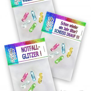 3 x Glitzerpillen MIX Set 2