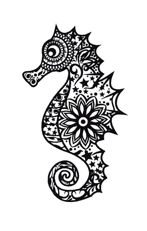 Quick Tattoo SEEPFERDCHEN