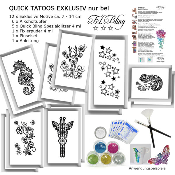 Quick Tattoo SET EXKLUSIVE