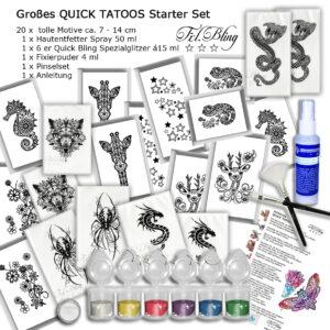 Quick Tattoo Starter SET
